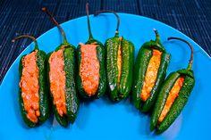 tasteslikechicken | Blogposts | Cotija and Peanut Butter Jalapeno Rellenos