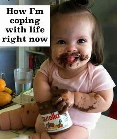 This would have been Alexis if they had Nutella when she was little!!