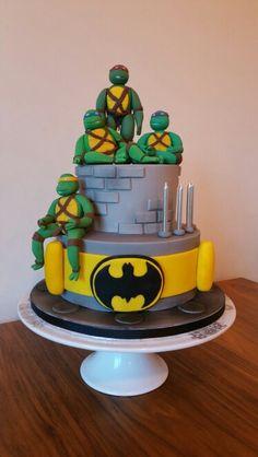 7 Superhero Cake Teenage Mutant Ninja Turtles Wolverine