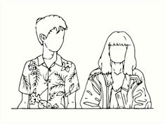 """""""The End Of The F***ing World"""" Art Print by franciscouto World Wallpaper, Arte Sketchbook, Aesthetic Japan, World Tattoo, Easy Drawings, Drawing Sketches, Line Art, Art Projects, Canvas Art"""