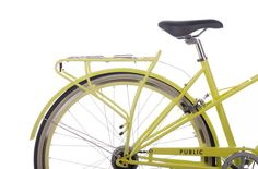 chartreuse (and so many other colors) bike rack