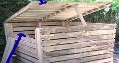 A l'heure où tout se récupère, uncomposteur est le bienvenu dans le jardin. Et le composteur bois est bien le plus écolo et le moins cher surtout si on le fabrique avec du bois de récup telle une palette ou des panneaux de bois servant aux transports de plantes. Alors pour faire votre composte