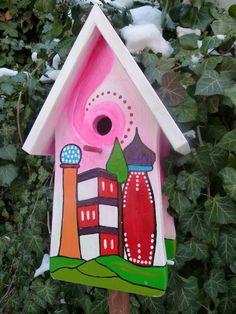 Nistkasten für Meisen, Vogelhaus, Vogelvilla