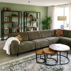 Living Room Decor And Design Ideas - Top Style Decor Living Room Accents, Living Room Color Schemes, New Living Room, Home And Living, Living Room Decor, Interior Design Living Room, Living Room Designs, Apartment Interior