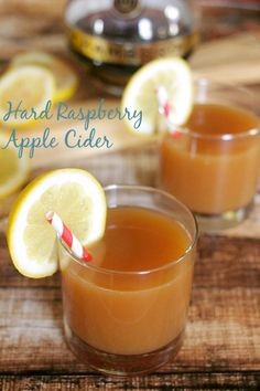Hard Raspberry Apple Cider | MomsTestKitchen.com