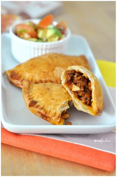 Sweet and Spicy Beef Empanadas are so good. Try them right now! Do it!