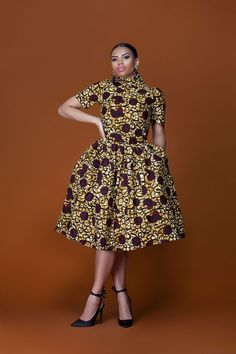 Here at Grass-fields we have an awesome range of African dress designs. Whether you're after an African print maxi or midi dress, we've got something for you. African American Fashion, African Print Fashion, Africa Fashion, Fashion Prints, African Print Dresses, African Fashion Dresses, African Dress, African Outfits, African Prints