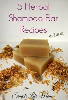 5 Natural, Organic Herbal Shampoo Bar Recipes using herbs and essential oils to . - - 5 Natural, Organic Herbal Shampoo Bar Recipes using herbs and essential oils to make cold process shampoo bars for all hair types. Shampoo Diy, Shampoo Natural, Organic Shampoo, Natural Soaps, Homemade Shampoo Recipes, Homemade Facials, Homemade Beauty Products, Beauty Recipe, Home Made Soap
