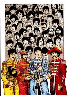 The Beatles by Mike Perkins