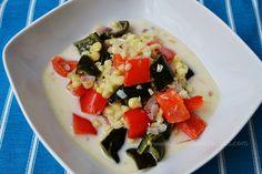 Sopa de elote y verduras rostizados   Madeleine Cocina