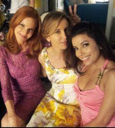 Marcia Cross, Felicity Huffman and Eva Longoria