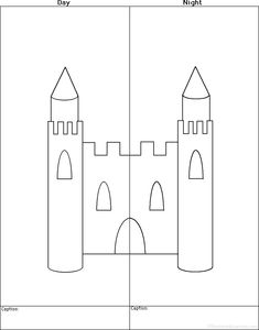 Kings, Queens, and Castles activities and printables at EnchantedLearning.com