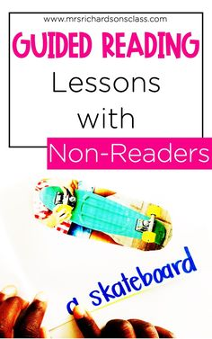 Learn how you can support your non-readers during guided reading whether they're in kindergarten, 1st grade, or even 2nd grade. I'm sharing ideas and tips for structuring lessons, what activities to include, and how to choose appropriate books! Plus learn how to incorporate interactive writing during this small group time as well! Guided Reading Table, Guided Reading Lessons, Reading Tips, Reading Resources, Teaching Reading, Teaching Kids, Kindergarten Activities, How To Teach Kids