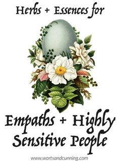 I learned what an empath was when I was about 12 years old and it was a turning point in my young development Having a name for what felt like an overwhelming experience. Healing Herbs, Medicinal Plants, Natural Healing, Crystal Healing, Holistic Healing, Holistic Remedies, Natural Home Remedies, Herbal Remedies, Health Remedies