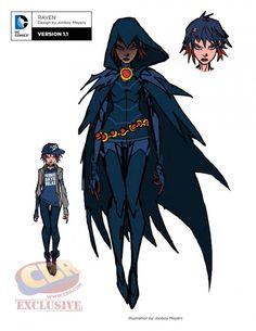 Jovens Titãs Rebirth Ravena