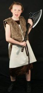 Velour dress with a lovely plush fur fabric waistcoat, over tunic and matching belt!  This is perfect for fancy dress, viking, sca, medieval and larp events.  Visit our website!