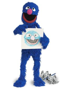It's Grover from @Sesame Street