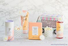 Zoella Beauty Jelly and Gelato Range Christmas Gifts For Him, Christmas Diy, The Factory Shop, Youtuber Merch, Sugg Life, Zoella Beauty, Photoshoot Themes, Gelato, Packaging Design