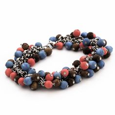 Cha-Cha Bracelet - Eco Friendly Wooden Beads and Stainless Steel