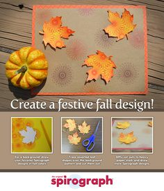 Fall Spirograph creations! Back Background, Background Drawing, Zentangle, Spirograph Art, Your Favorite, Shapes, Create, Fall, Pattern