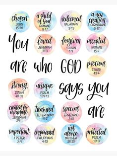 Prayer Scriptures, Bible Verses Quotes, Bibel Journal, Inspirational Prayers, Bible Encouragement, Bible Lessons, Christian Quotes, Faith, My Identity In Christ