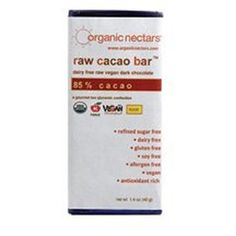 Organic Nectars 85 Percent Raw Cacao Chocolate Bar 14 Ounce  12 per case -- Find out more about the great product at the image link.