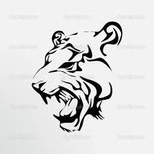 Картинки по запросу tiger tattoo vector