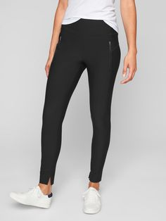 Best pants ever!!! Could live in these - dress them up or wear lounging around the house! So comfortable and can pass for work pants!