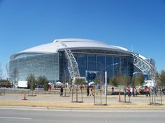 (Dallas) Cowboys Stadium in Arlington.... Have to take my hubby here one day.