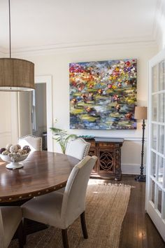 Bright painting and neutrals