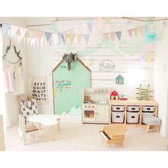 壁/天井/黒板DIY/黒板/salut!/DIY/ままごとキッチン…などのインテリア実例 - 2017-09-04 09:34:40 | RoomClip(ルームクリップ)