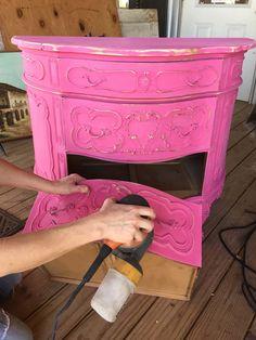 junk gypsy clay & chalk paint // flower child pink {junk gypsy co.}