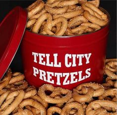 Tell City Pretzels--tiny little factory, great big pretzels!