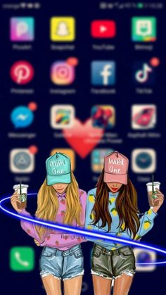 Wallpapers For Best Friends , Wallpapers For Best Friends - Wallpaper Tumblr Lockscreen, Emoji Wallpaper Iphone, Disney Phone Wallpaper, Cartoon Wallpaper Iphone, Best Iphone Wallpapers, Cute Wallpaper Backgrounds, Cute Cartoon Wallpapers, Wallpaper Art, Laptop Wallpaper