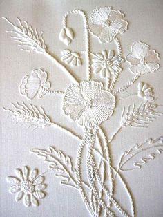 13. #blanc sur blanc - 34 motifs de #broderie, que vous allez à l'amour... → DIY