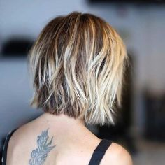 Textured Short Blunt Bob Haircut
