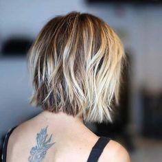 Textured Short Blunt Bob Haircut