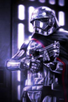 Star Wars: Captain Phasma - Created by Eddie Holly