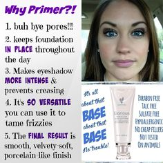 Younique Glorious Primer.... what's not to love?! https://www.youniqueproducts.com/gorgeouslashes4you/business