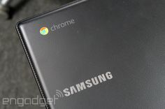 Samsung's latest Chromebooks come wrapped in faux-leather, on sale next month for $320 and up