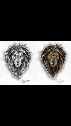 deviantART: More Like Male lion Tattoo design by =Marzzpark Tribal Lion Tattoo, Lion Head Tattoos, Mens Lion Tattoo, Lion Tattoo Design, Leo Tattoos, Arrow Tattoos, Arm Tattoos For Guys, Trendy Tattoos, Tattoo Designs Men