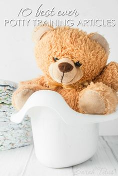 Potty training your child can seem like a nightmare, but it doesn't have to be. After scouring the web, I found these 10 best ever potty training articles.