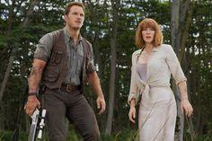 Chris Pratt and Bryce Dallas HowardPhoto: Universal Pictures