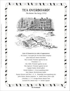 Joining the Boston Tea Party | 1773 Boston Tea Party | Pinterest ...