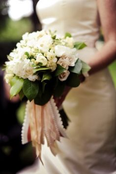 White-and-Green-Wedding-Bouquet... Wedding ideas for brides, grooms, parents & planners ... https://itunes.apple.com/us/app/the-gold-wedding-planner/id498112599?ls=1=8  ... The Gold Wedding Planner iPhone App.