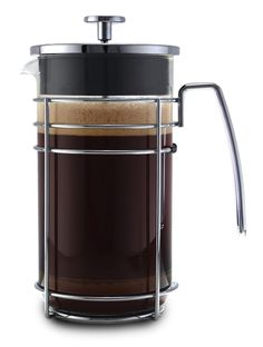 PRENSA FRANCESA ARGENTO 3 TAZAS (350 ml) French Press, Starbucks, Coffee Maker, Kitchen Appliances, Chocolate, Cups, Mexico, Passion, Coffee Art