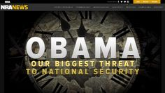"""NRA Unhinged: Obama Is """"Our Biggest Threat To National Security"""" Obama, Politics, History, Big, Movie Posters, Historia, Film Poster, Billboard, Film Posters"""