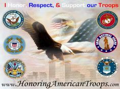 VETERANS HONORING VETERANS - To honor,respect and support the United States of America military members. ARMY- NAVY- AIR FORCE- MARINES- COAST GUARD