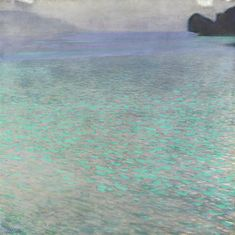 Gustav Klimt, Attersee | Masterpieces of the Collection | The Leopold Collection | Leopold Museum
