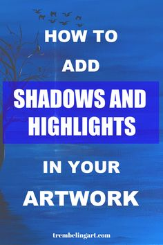 Beginners Guide To Highlighting and Shading Struggling with highlighting and shading? Learn how to highlight and shade your paintings for a more realistic look and feel. Basic Painting, Acrylic Painting Lessons, Acrylic Painting For Beginners, Acrylic Painting Techniques, Tole Painting, Drawing Techniques, Painting & Drawing, Watercolor Paintings, Watercolours